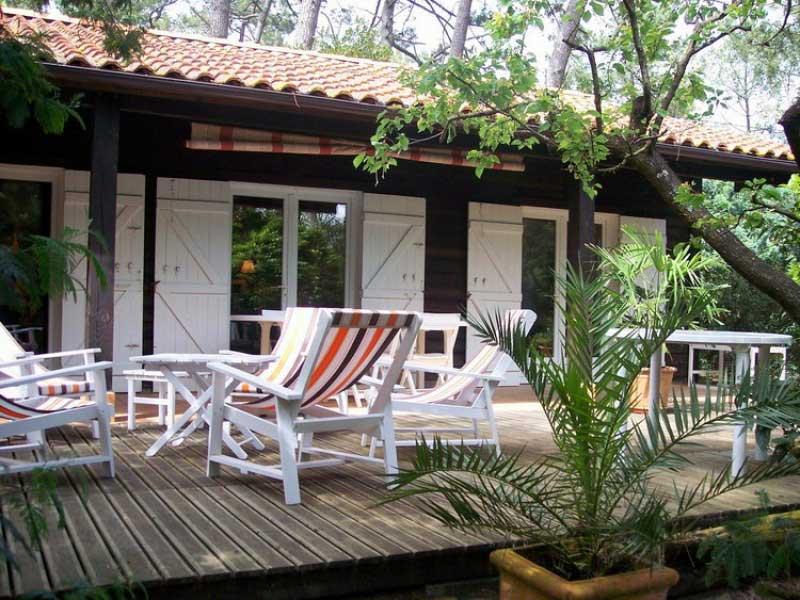 Location Villa Cap Ferret vue-mer 1ere ligne 707 capimmo