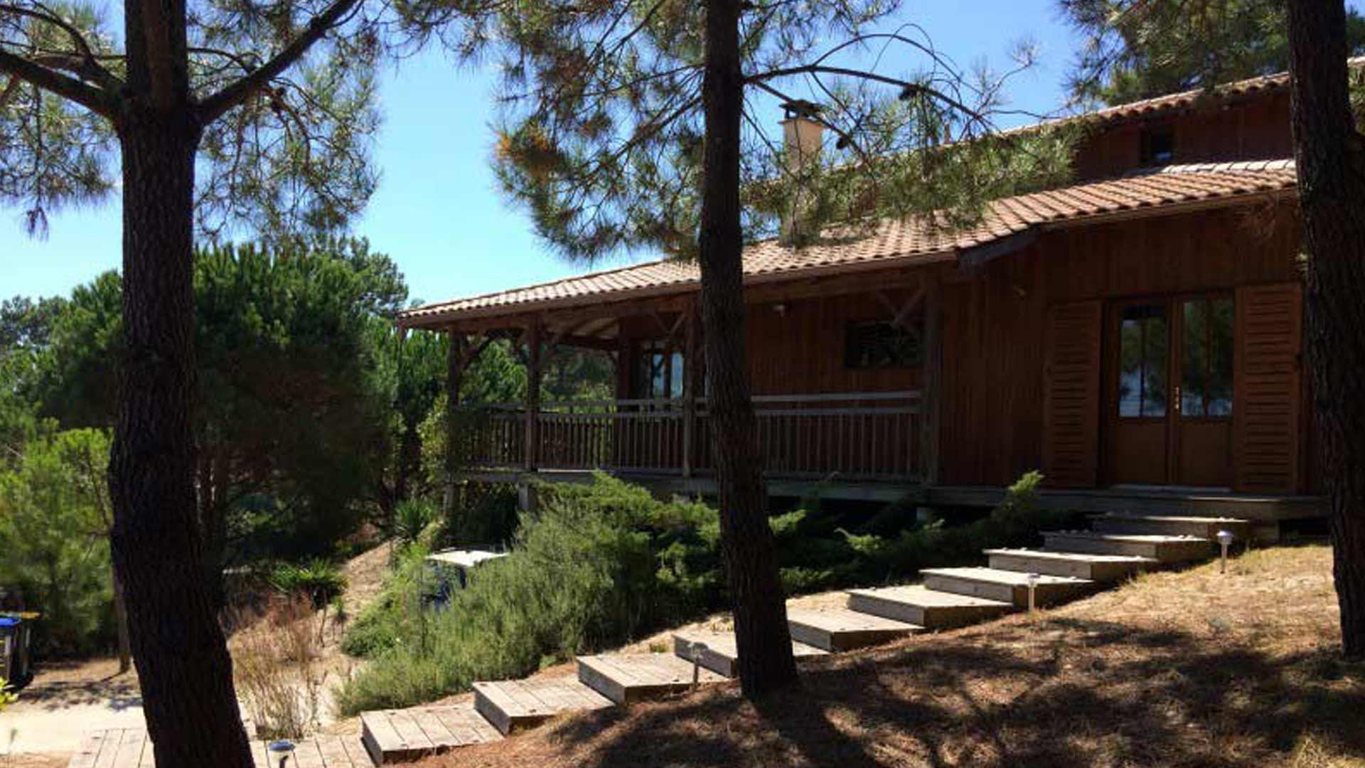 Location Villa le canon 766 ferret capimmo