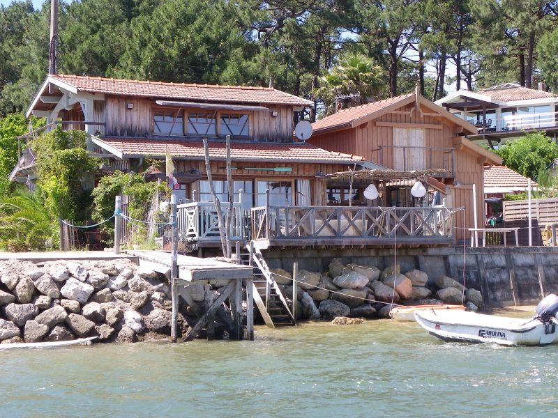 location villa le four 1ere ligne mer bassin ferret capimmo